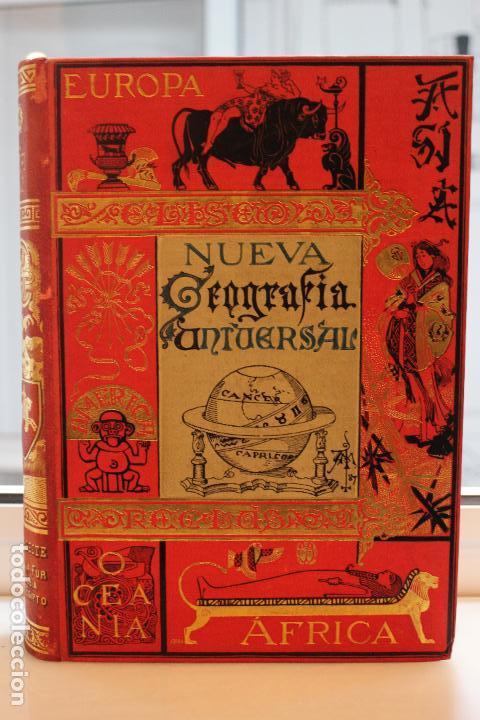 NUEVA GEOGRAFIA UNIVERSAL POR ELISEO RECLUS.EL PROGRESO 1890. SEGUNDA SERIE: AFRICA TOMO I (Libros Antiguos, Raros y Curiosos - Ciencias, Manuales y Oficios - Otros)