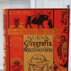 Libros antiguos: NUEVA GEOGRAFIA UNIVERSAL POR ELISEO RECLUS.EL PROGRESO 1890. SEGUNDA SERIE: AFRICA TOMO I. Lote 72928487