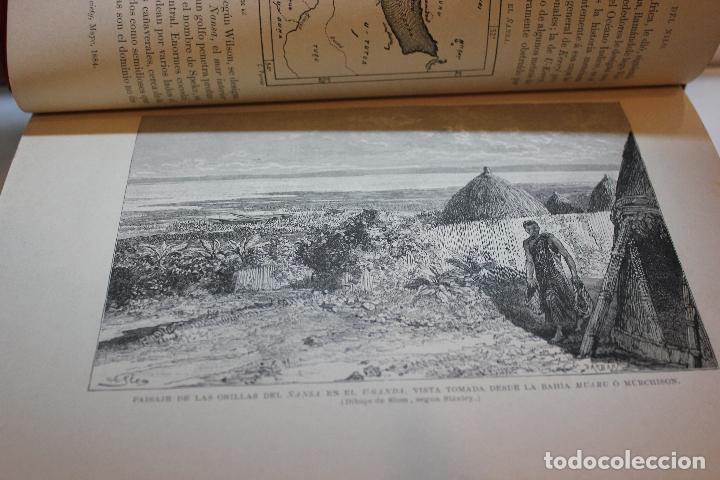 Libros antiguos: NUEVA GEOGRAFIA UNIVERSAL POR ELISEO RECLUS.EL PROGRESO 1890. SEGUNDA SERIE: AFRICA TOMO I - Foto 4 - 72928487