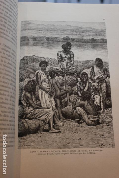 Libros antiguos: NUEVA GEOGRAFIA UNIVERSAL POR ELISEO RECLUS.EL PROGRESO 1890. SEGUNDA SERIE: AFRICA TOMO I - Foto 5 - 72928487