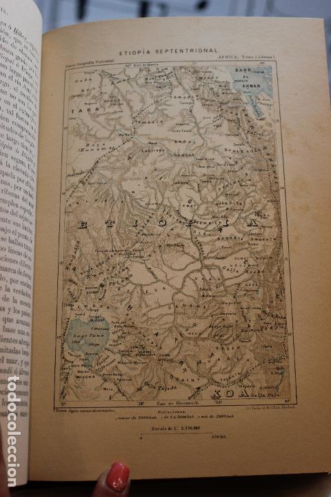 Libros antiguos: NUEVA GEOGRAFIA UNIVERSAL POR ELISEO RECLUS.EL PROGRESO 1890. SEGUNDA SERIE: AFRICA TOMO I - Foto 6 - 72928487