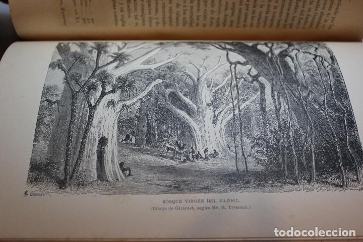 Libros antiguos: NUEVA GEOGRAFIA UNIVERSAL POR ELISEO RECLUS.EL PROGRESO 1890. SEGUNDA SERIE: AFRICA TOMO I - Foto 8 - 72928487