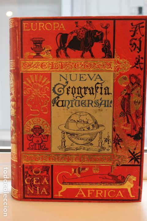 NUEVA GEOGRAFIA UNIVERSAL POR ELISEO RECLUS.EL PROGRESO 1889.PRIMERA SERIE: EUROPA TOMO II (Libros Antiguos, Raros y Curiosos - Ciencias, Manuales y Oficios - Otros)