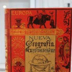 Libros antiguos: NUEVA GEOGRAFIA UNIVERSAL POR ELISEO RECLUS.EL PROGRESO 1889.PRIMERA SERIE: EUROPA TOMO II . Lote 72928703