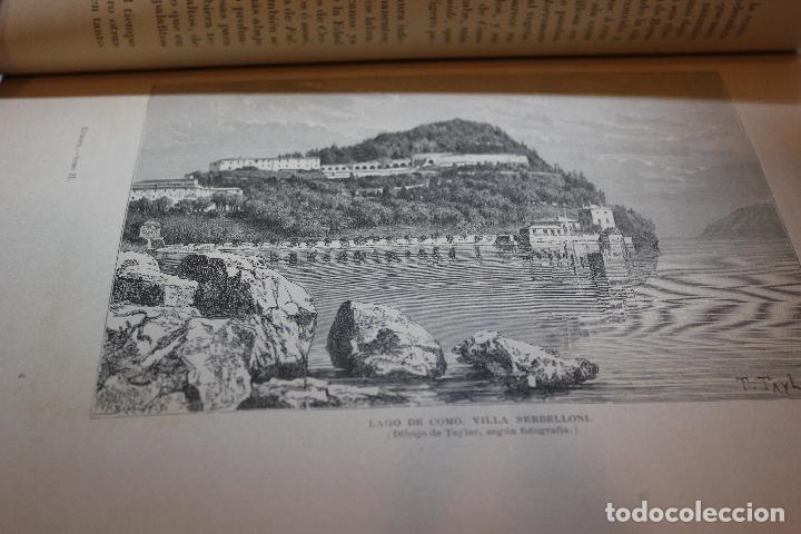 Libros antiguos: NUEVA GEOGRAFIA UNIVERSAL POR ELISEO RECLUS.EL PROGRESO 1889.PRIMERA SERIE: EUROPA TOMO II - Foto 4 - 72928703