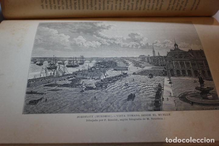 Libros antiguos: NUEVA GEOGRAFIA UNIVERSAL POR ELISEO RECLUS.EL PROGRESO 1889.PRIMERA SERIE: EUROPA TOMO II - Foto 8 - 72928703