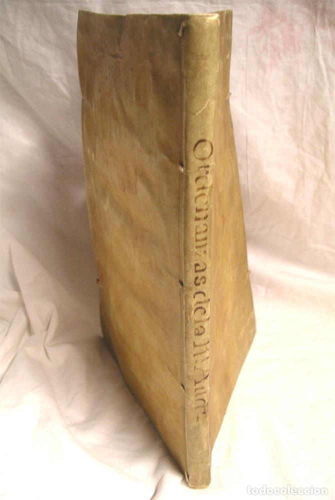 Libros antiguos: Ordenanzas de la Real Audiencia Principado de Cataluña mandadas por el Rey año 1742, Libro pergamino - Foto 5 - 72934503