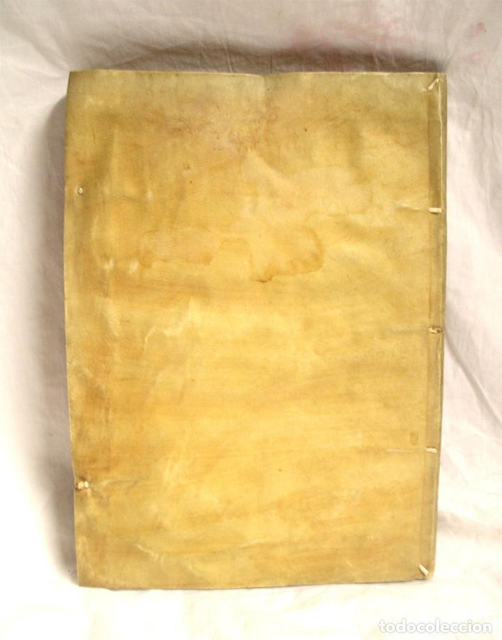 Libros antiguos: Ordenanzas de la Real Audiencia Principado de Cataluña mandadas por el Rey año 1742, Libro pergamino - Foto 6 - 72934503