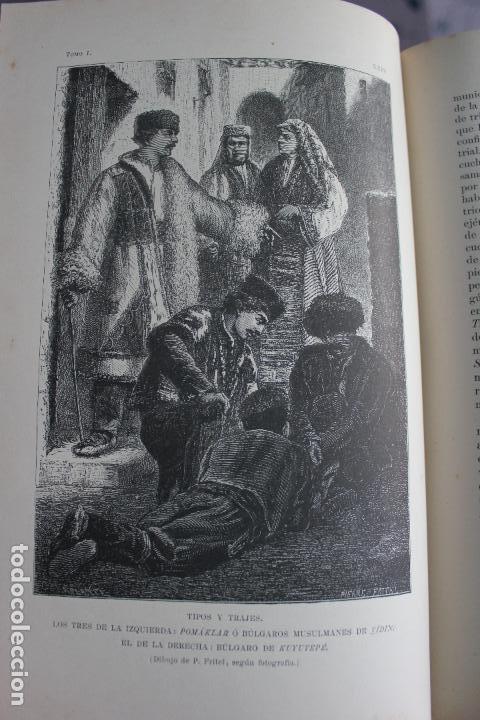 Libros antiguos: NUEVA GEOGRAFIA UNIVERSAL POR ELISEO RECLUS.EL PROGRESO 1888. PRIMERA SERIE: EUROPA TOMO I - Foto 6 - 72945915