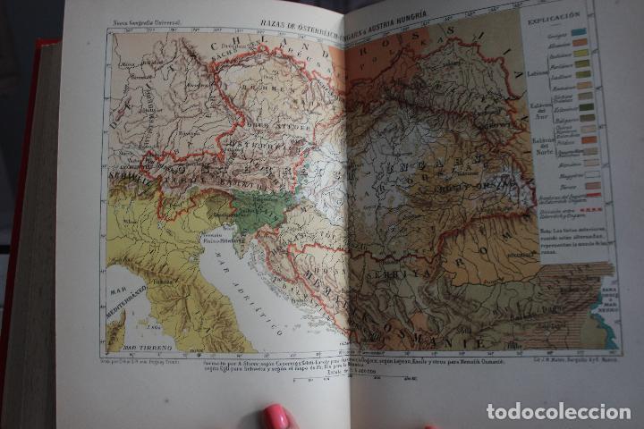 Libros antiguos: NUEVA GEOGRAFIA UNIVERSAL POR ELISEO RECLUS.EL PROGRESO 1888. PRIMERA SERIE: EUROPA TOMO I - Foto 7 - 72945915