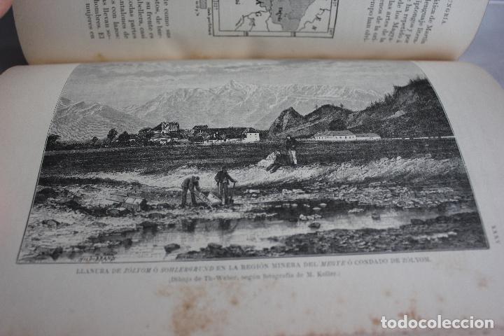 Libros antiguos: NUEVA GEOGRAFIA UNIVERSAL POR ELISEO RECLUS.EL PROGRESO 1888. PRIMERA SERIE: EUROPA TOMO I - Foto 8 - 72945915