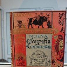 Libros antiguos: NUEVA GEOGRAFIA UNIVERSAL POR ELISEO RECLUS.EL PROGRESO 1889. SEGUNDA SERIE: AFRICA TOMO II. Lote 72946639