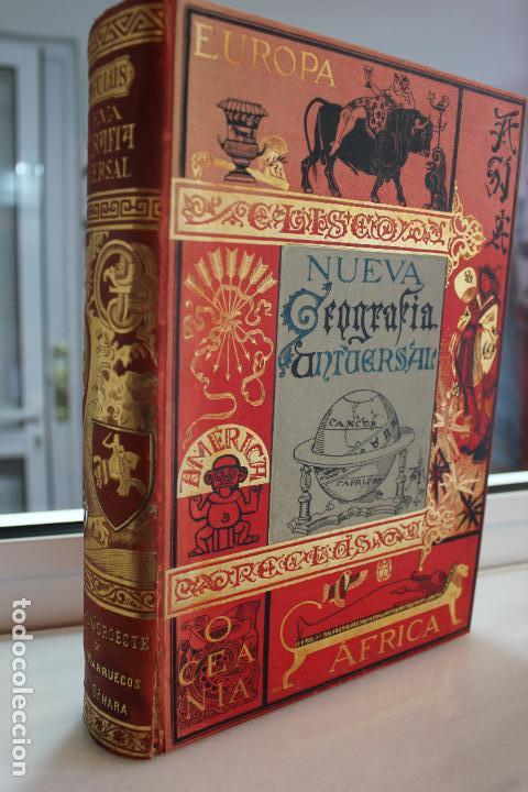 Libros antiguos: NUEVA GEOGRAFIA UNIVERSAL POR ELISEO RECLUS.EL PROGRESO 1889. SEGUNDA SERIE: AFRICA TOMO II - Foto 2 - 72946639