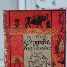 Libros antiguos: NUEVA GEOGRAFIA UNIVERSAL POR ELISEO RECLUS.EL PROGRESO 1890. CUARTA SERIE:AMERICA TOMO I . Lote 72947787