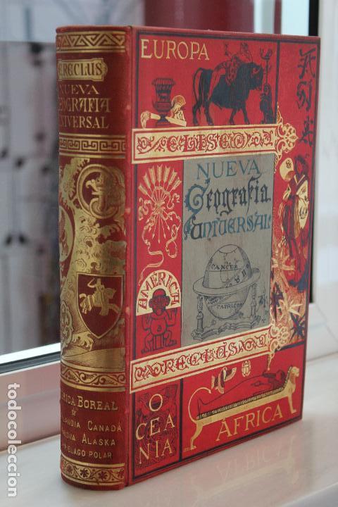 Libros antiguos: NUEVA GEOGRAFIA UNIVERSAL POR ELISEO RECLUS.EL PROGRESO 1890. CUARTA SERIE:AMERICA TOMO I - Foto 2 - 72947787