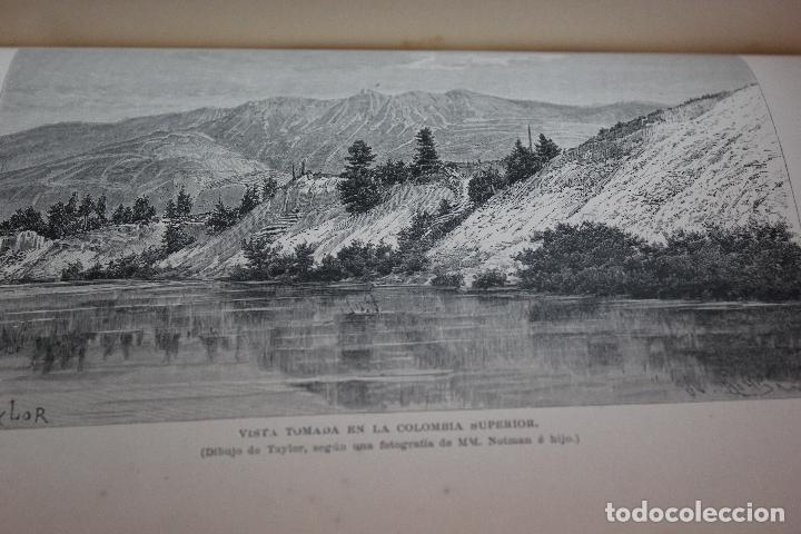 Libros antiguos: NUEVA GEOGRAFIA UNIVERSAL POR ELISEO RECLUS.EL PROGRESO 1890. CUARTA SERIE:AMERICA TOMO I - Foto 6 - 72947787