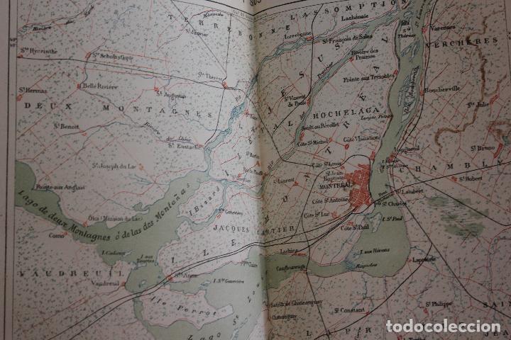 Libros antiguos: NUEVA GEOGRAFIA UNIVERSAL POR ELISEO RECLUS.EL PROGRESO 1890. CUARTA SERIE:AMERICA TOMO I - Foto 7 - 72947787