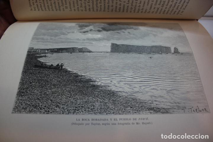 Libros antiguos: NUEVA GEOGRAFIA UNIVERSAL POR ELISEO RECLUS.EL PROGRESO 1890. CUARTA SERIE:AMERICA TOMO I - Foto 9 - 72947787