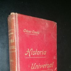 Libros antiguos: HISTORIA UNIVERSAL / TOMO I / CESAR CANTU. Lote 73345899