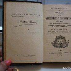 Libros antiguos: MANUAL DE LAS EFEMERIDES Y ANUALIDADES MAS NOTABLES DESDE LA CREACION HASTA NUESTROS DIAS.AÑO 1857. Lote 73418331