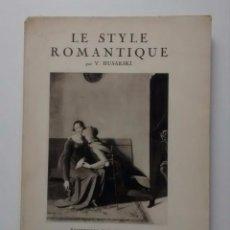 Le style romanique 1931