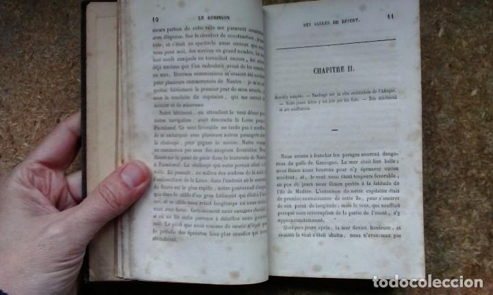 Libros antiguos: Le Robinson des Sables du Désert (1842) / C. H. de Mirval. P. C. Lehuby. - Foto 10 - 73579379