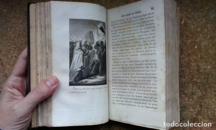 Libros antiguos: Le Robinson des Sables du Désert (1842) / C. H. de Mirval. P. C. Lehuby. - Foto 12 - 73579379