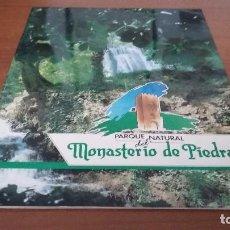 Libros antiguos: PARQUE NATURAL MONASTERIO DE PIEDRA ZARAGOZA. Lote 73583543
