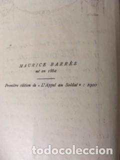 Libros antiguos: L'Appel au soldat. MAURICE BARRÉS, 1900 - Foto 2 - 73593931