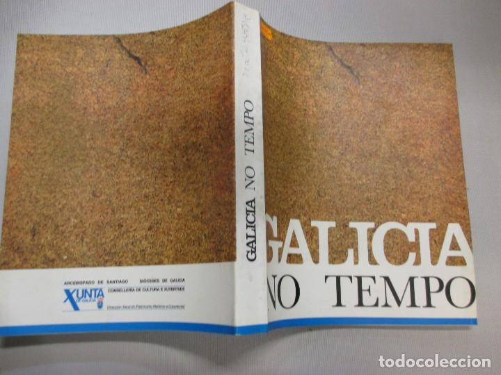GALICIA NO TEMPO - VV.AA - SANTIAGO DE COMPOSTELA 1991 - EN PORTUGUES 2.3KG INFO Y FOTO (Libros Antiguos, Raros y Curiosos - Bellas artes, ocio y coleccionismo - Otros)