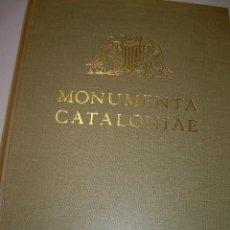 Libros antiguos: MONUMENTA CATALONIAE..LES MAJESTATS CATALANES...EDICION LIMITADA DE 475 EJEMPLARES.ESTE ES EL Nº.280. Lote 73600039
