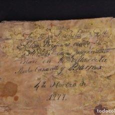 Libros antiguos: MANUSCRITO ESCRITURAS DE D. JULIÁN ESTEFANÍA VECINO DE VALLADOLID, SIGLOS XVII-XVIII. Lote 73649483