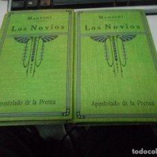 Libros antiguos: LOS NOVIOS MANZONI. Lote 73681911