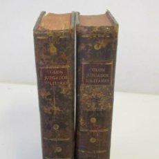 Libros antiguos: JUZGADOS MILITARES DE ESPAÑA Y SUS INDIAS. POR D. FÉLIX COLÓN Y LARRIATEGUI, 1788. Lote 73712471