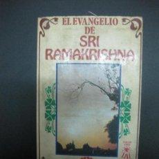 Libros antiguos: EL EVANGELIO DE SRI RAMAKRISHNA. VISION LIBROS 1981.. Lote 74000831