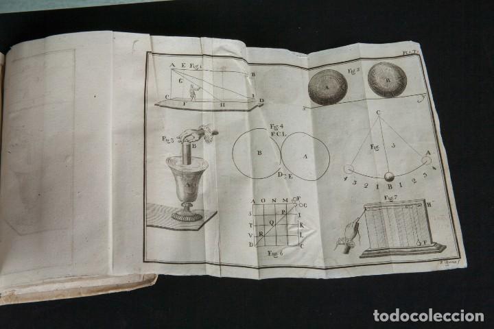 Libros antiguos: INSTITUTIONES PHILOSOPHICAE-ARCHIEPISCOPI LUGDUNENSIS-FÍSICA COMPLETA-TOMOS 4 Y 5-2 VOL-MATRITI 1793 - Foto 3 - 74076523