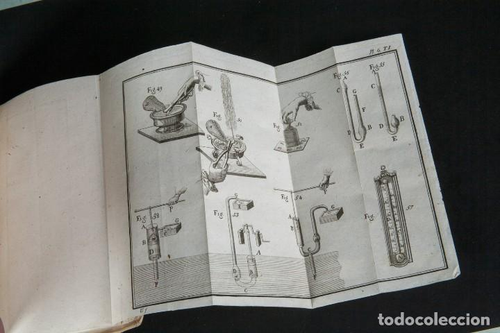 Libros antiguos: INSTITUTIONES PHILOSOPHICAE-ARCHIEPISCOPI LUGDUNENSIS-FÍSICA COMPLETA-TOMOS 4 Y 5-2 VOL-MATRITI 1793 - Foto 6 - 74076523