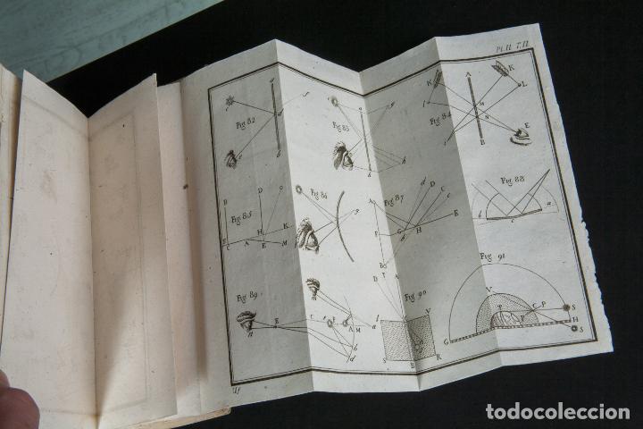 Libros antiguos: INSTITUTIONES PHILOSOPHICAE-ARCHIEPISCOPI LUGDUNENSIS-FÍSICA COMPLETA-TOMOS 4 Y 5-2 VOL-MATRITI 1793 - Foto 9 - 74076523