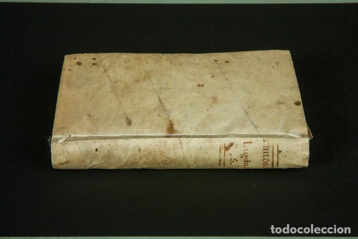 Libros antiguos: INSTITUTIONES PHILOSOPHICAE-ARCHIEPISCOPI LUGDUNENSIS-FÍSICA COMPLETA-TOMOS 4 Y 5-2 VOL-MATRITI 1793 - Foto 12 - 74076523