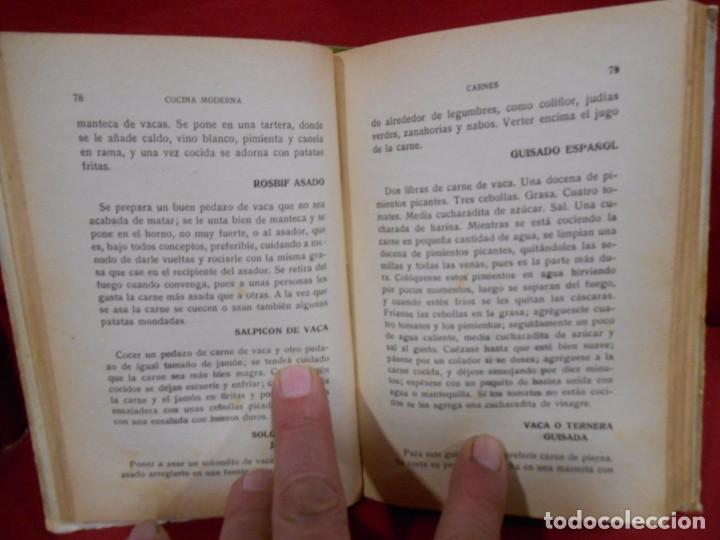 Libros antiguos: COCINA MODERNA COCINA PRACTICA COCINA PARA TODOS - ED. GRAFICA ESPAÑOLA -MADRID AÑO 1930 - - Foto 5 - 74092683