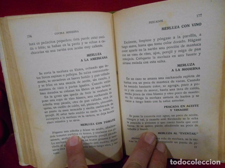 Libros antiguos: COCINA MODERNA COCINA PRACTICA COCINA PARA TODOS - ED. GRAFICA ESPAÑOLA -MADRID AÑO 1930 - - Foto 6 - 74092683