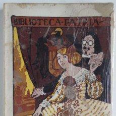 Libros antiguos: LA ÚLTIMA HUELGA – BIBLIOTECA PATRIA – JOSÉ IGNACIO S. DE URBINA. Lote 74268583