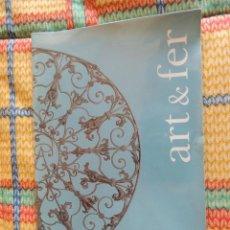 Libros antiguos: ART & FER. CLOISONS XIII-XIX SIÈCLES. MARIE PESSIOT MUSEES ROUEN. ESTUDIO SOBRE REJILLAS HIERRO. Lote 74342255