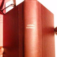 Libros antiguos: CURSO DE HISTORIA UNIVERSAL. - MUNDÓ, JOSÉ (S.I.) (5ª EDICIÓN 1952). Lote 74358615