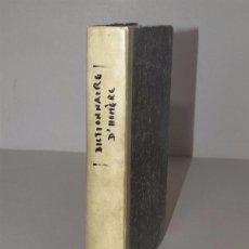 Libros antiguos: 1841 - THEIL - DICCIONARIO COMPLETO DE HOMERO Y DE LOS HOMERIDOS - EDICION ORIGINAL. Lote 74367243