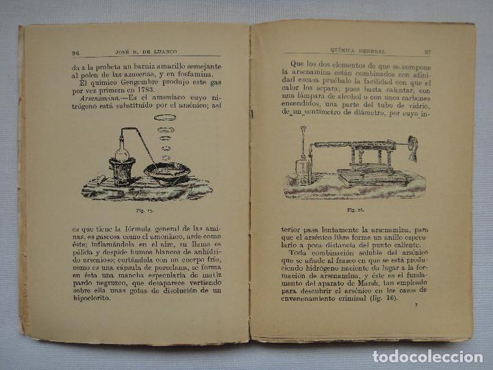 Libros antiguos: COMPENDIO DE QUÍMICA GENERAL; MANUALES GALLACH 1926 - Foto 2 - 74469515