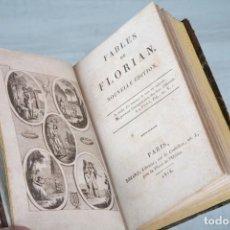 Libros antiguos: OBRAS DE FLORIAN - FABLES - NOUVELLE EDITION - PARÍS 1816. Lote 74554283