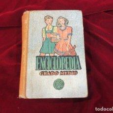 Libros antiguos: ENCICLOPEDIA GRADO MEDIO DE DALMAU Y METODO DE INGLES SEGUNDO GRADO LUIS VIVES. Lote 74568791