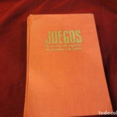 Libros antiguos: LIBRO DE JUEGO DE MANOS DE INGENIO DE PRENDAS Y DE SALÓN. Lote 74569211