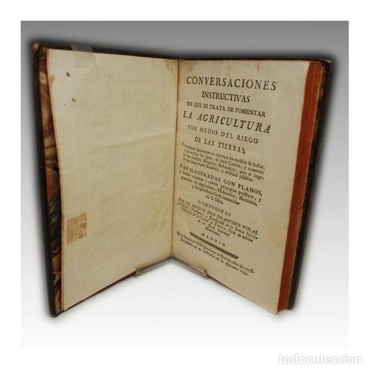 FOMENTO DE LA AGRICULTURA (SANCHA 1778) (Libros Antiguos, Raros y Curiosos - Ciencias, Manuales y Oficios - Otros)